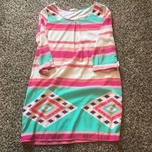 Dresses & Skirts - Pastel print dress
